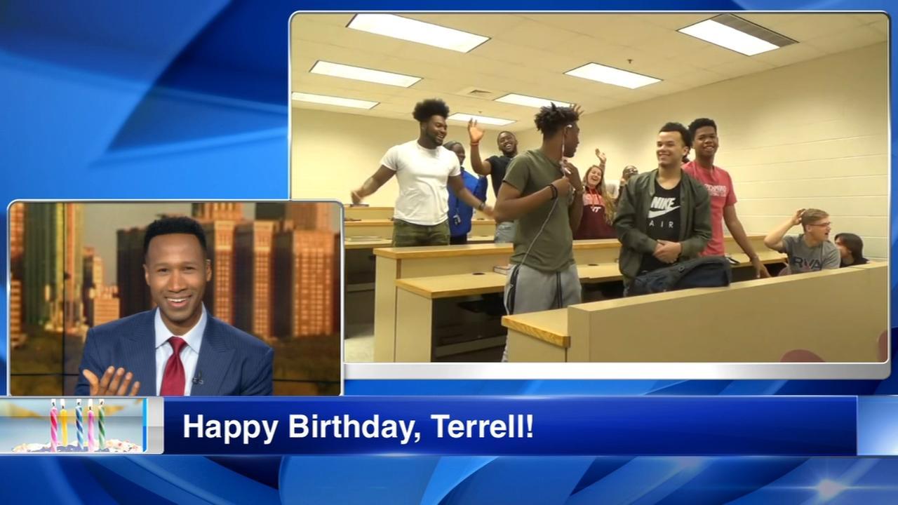 Happy Birthday, Terrell Brown!
