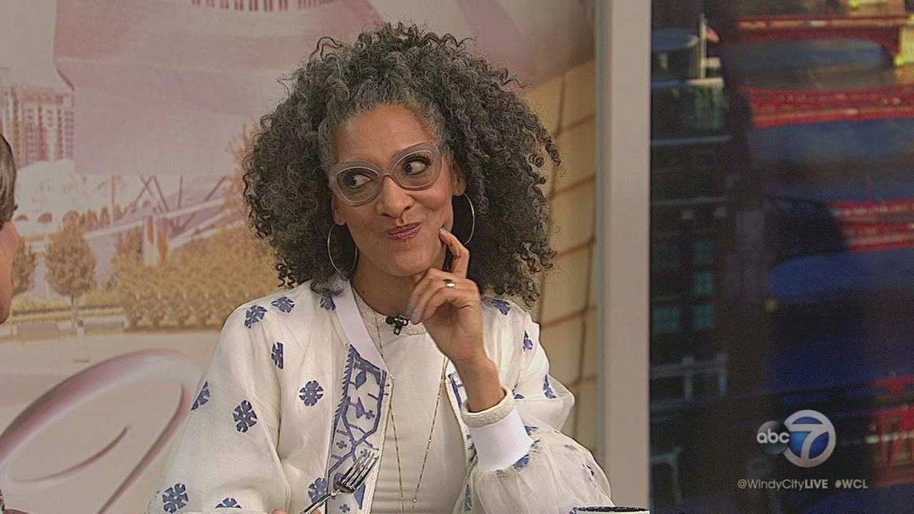 The Chew co-host Carla Hall stops by