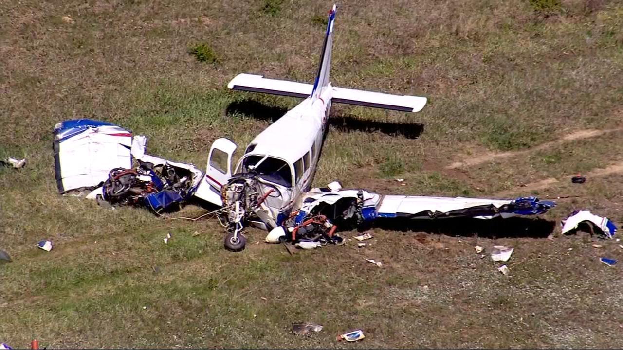 Chopper 7 HD over small plane crash in Porter County, Indiana