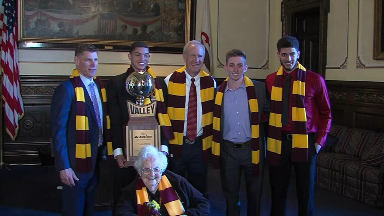 Loyola Ramblers honored in Springfield