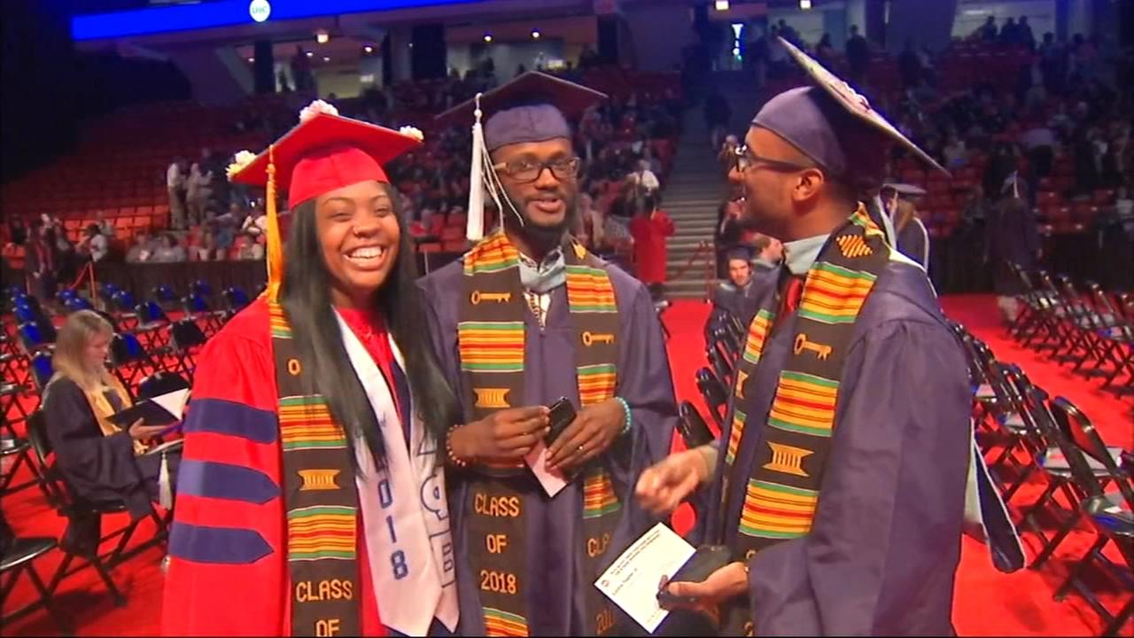3 members of same family graduate from UIC College of Education
