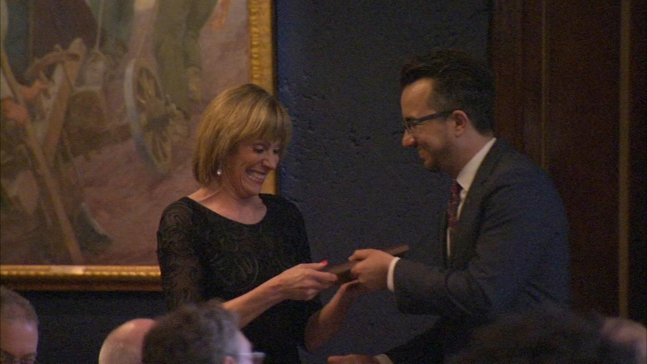 ABC7s Roz Varon, Leah Hope honored