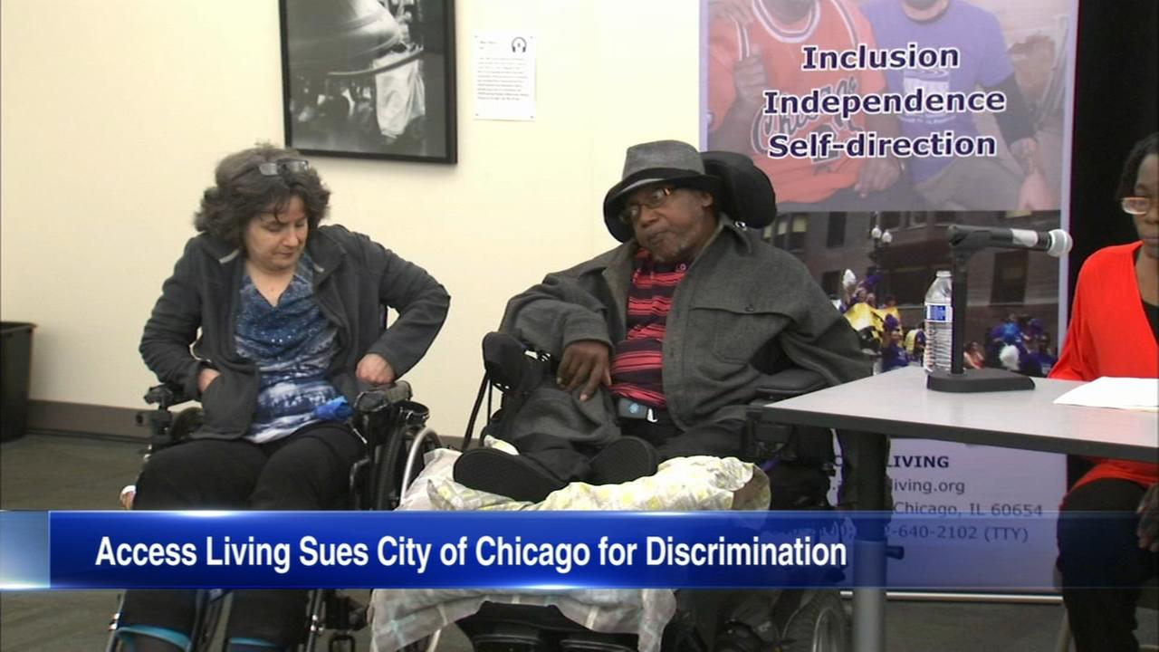Group sues Chicago over lack of housing for people with disabilities