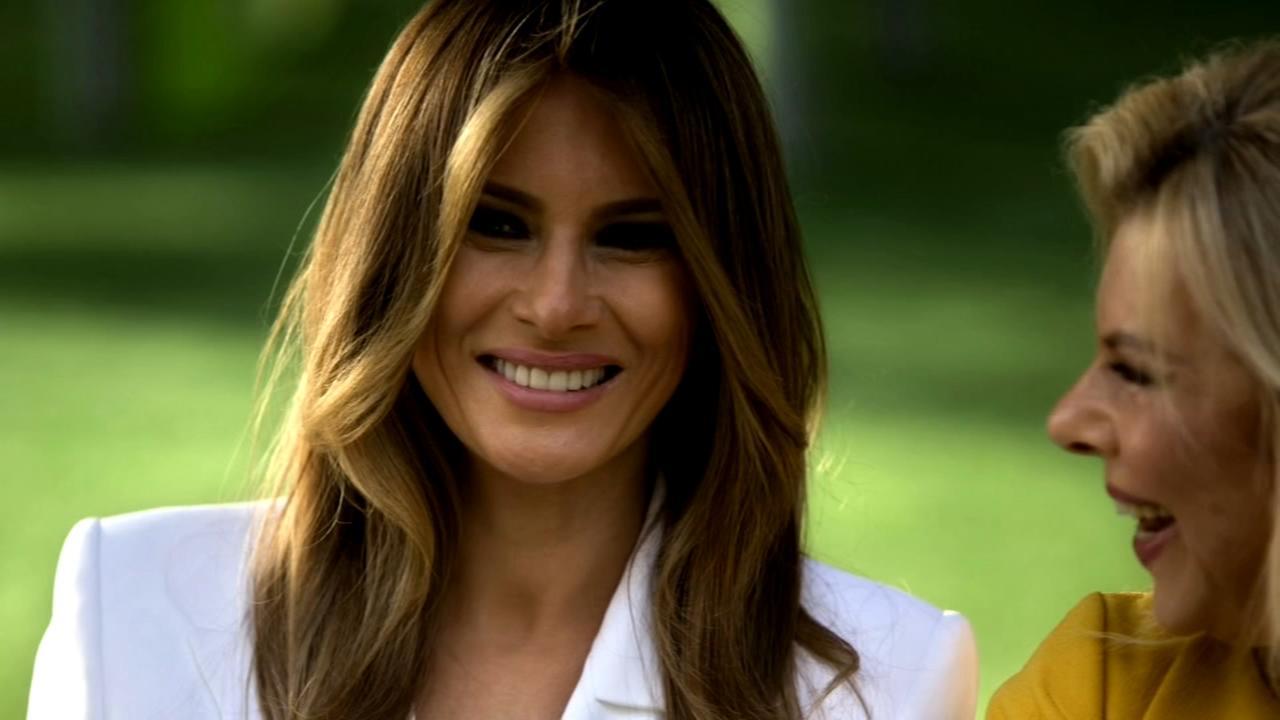 First Lady Melania Trump undergoes kidney surgery