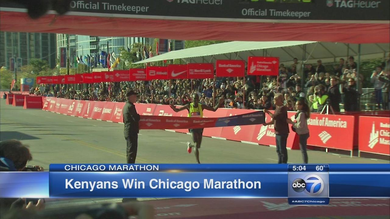 101214Chicago Marathon enjoyed by runners, spectators