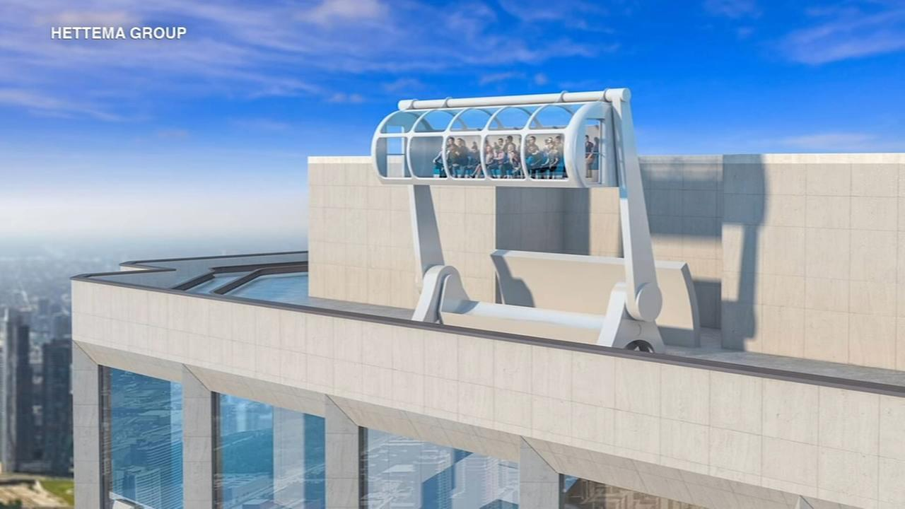 Aon Center releases observation deck plan