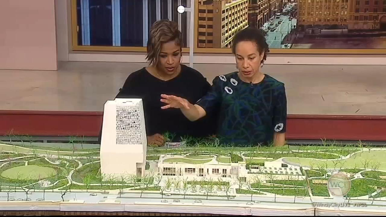 Sneak peek: Obama presidential museum