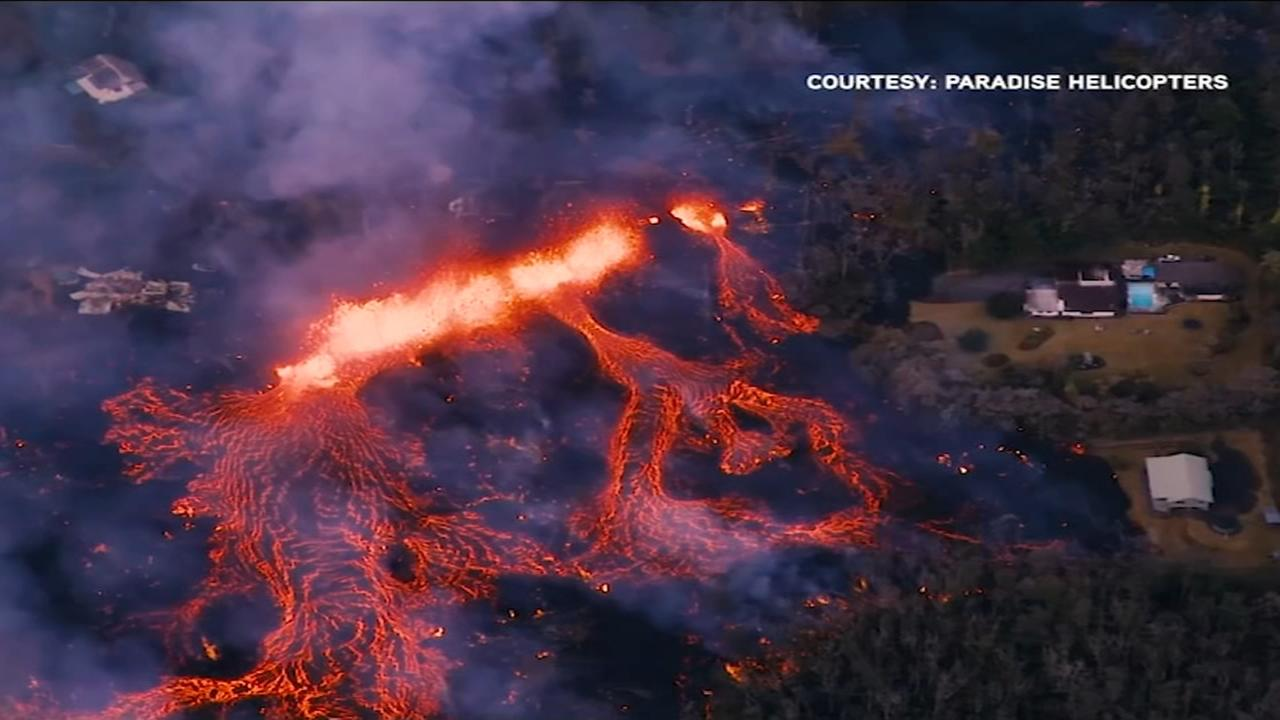Chicagoland native discusses Kilauea eruption: Its absolutely hypnotic