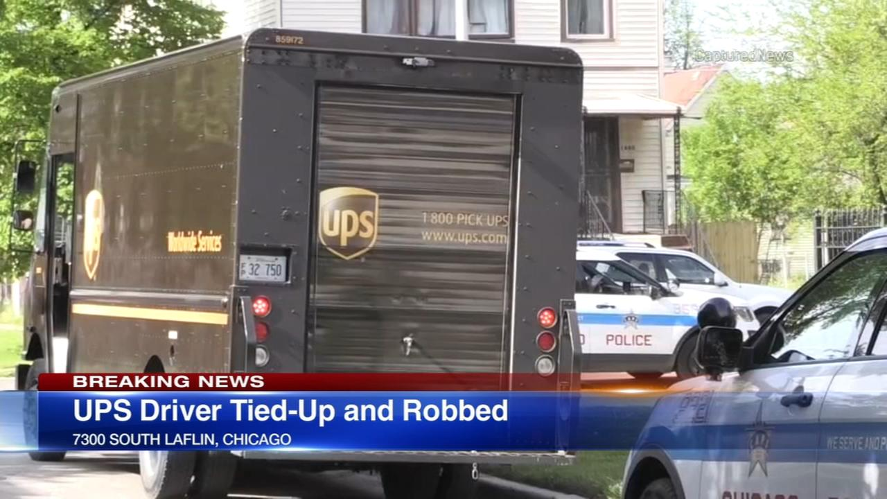 Delivery driver robbed at gunpoint