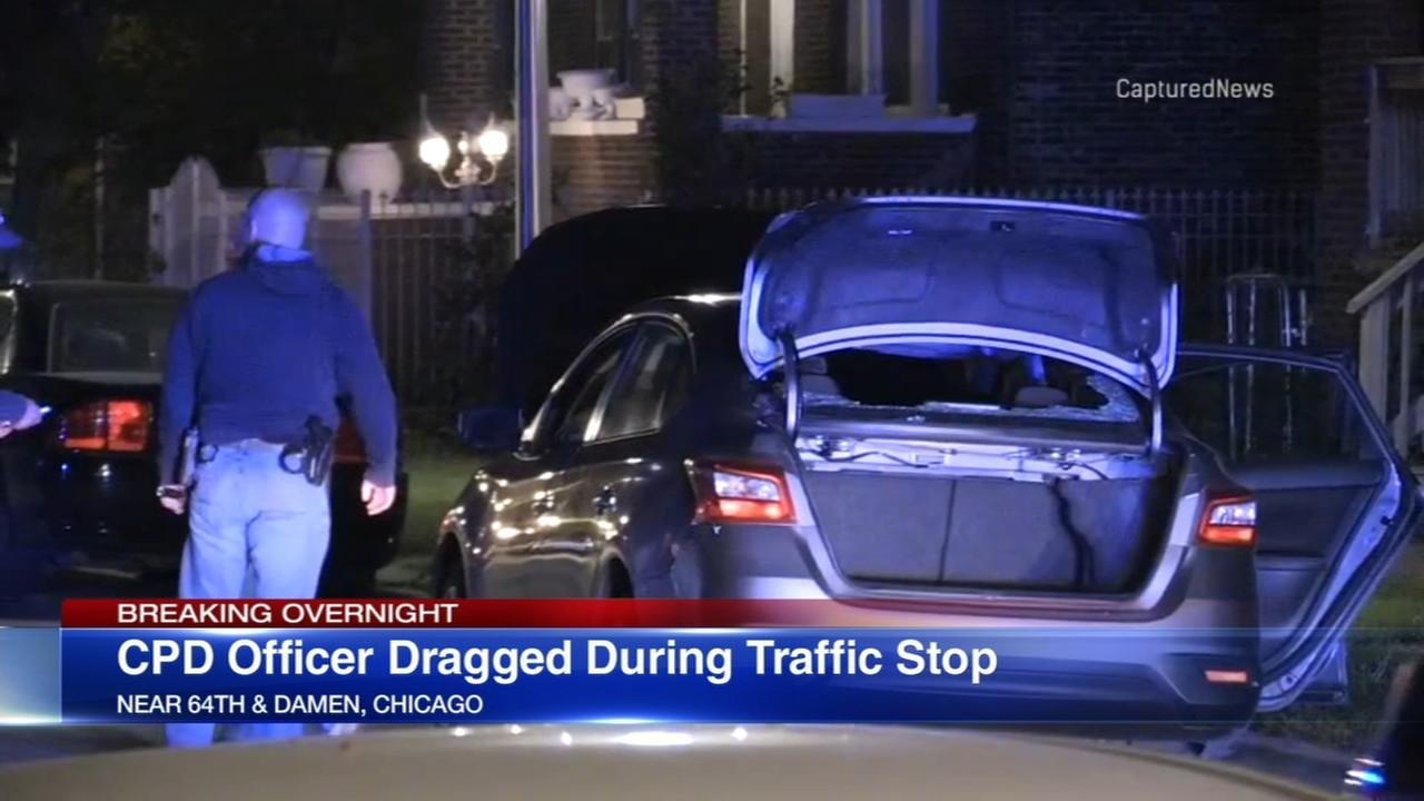 CPD officer dragged during West Englewood traffic stop