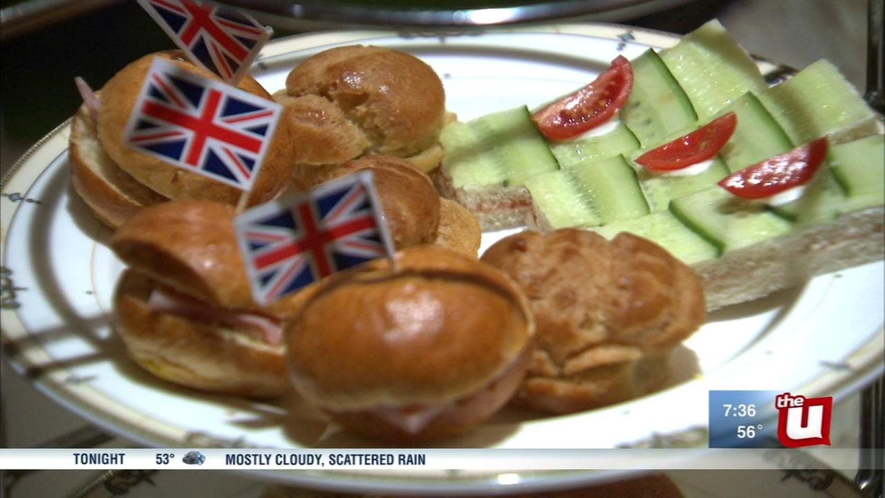 Chicagoans get into spirit on eve of royal wedding
