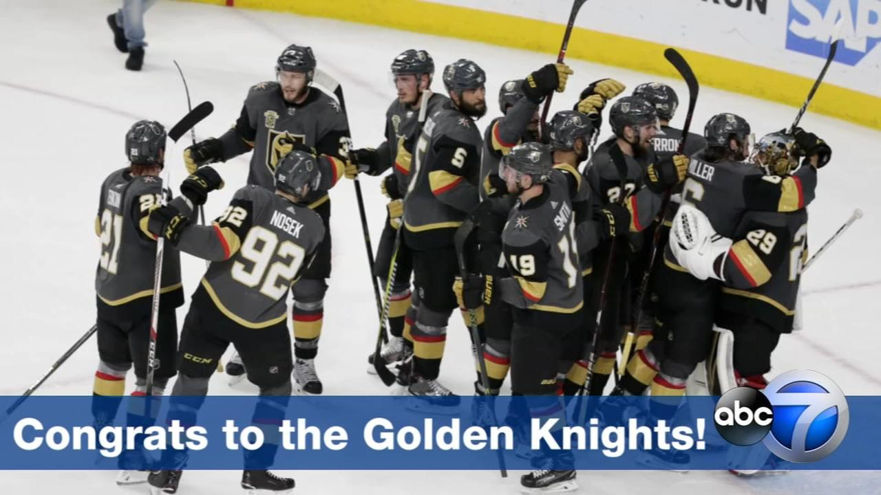 Golden Knights headed to Stanley Cup Final