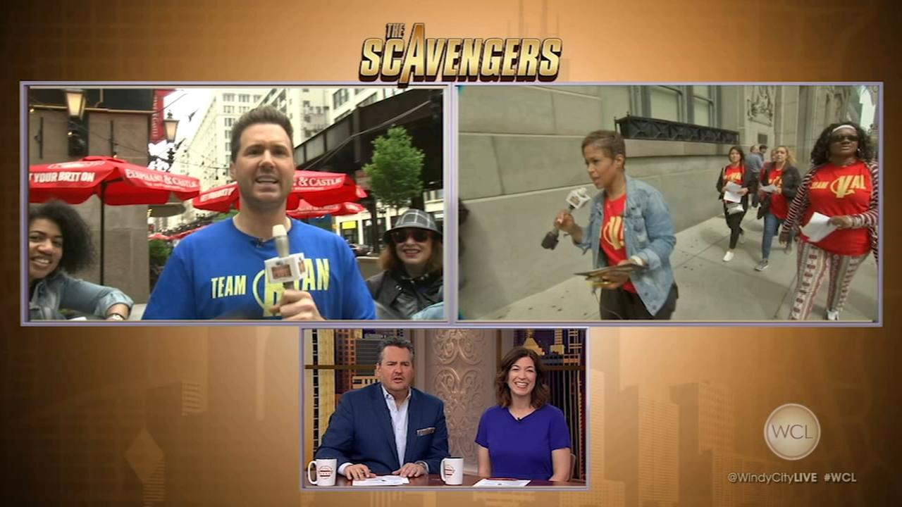 Ryan, Val teams compete in WCL scavenger hunt, Part 1