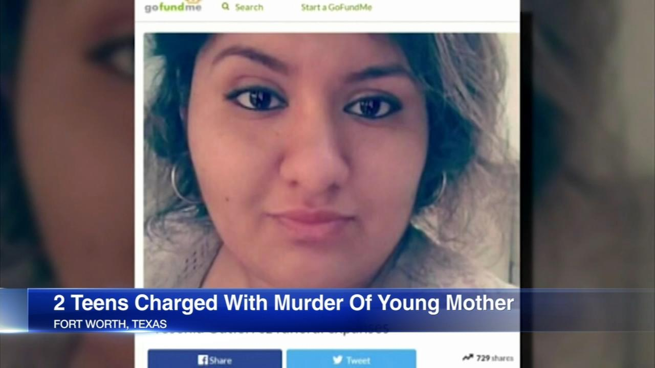 2 boys, ages 13 and 14, charged in young mothers murder