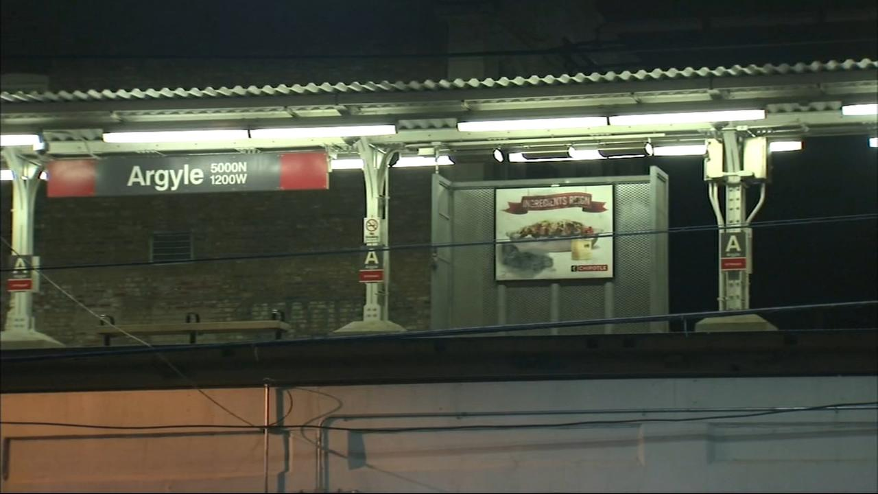 Man stabbed on CTA Red Line train near Argyle