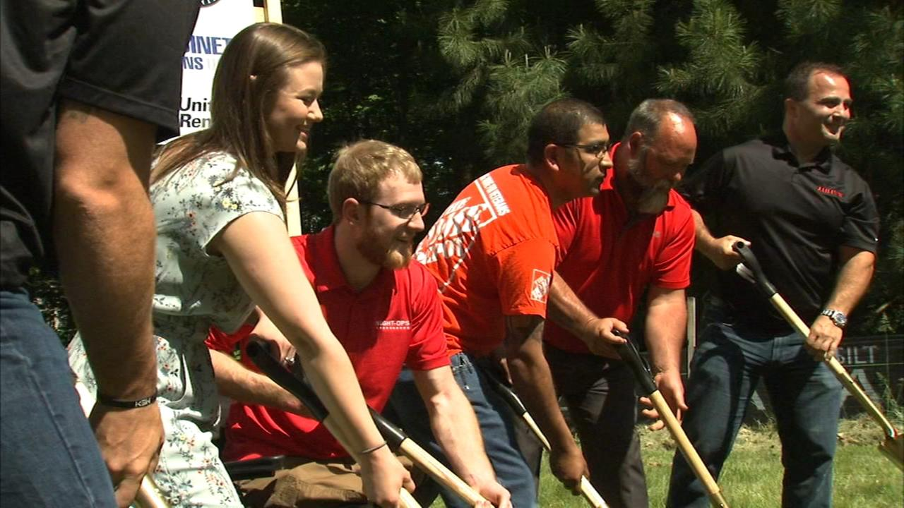 Jared Allens Home for Wounded Warriors breaks ground in Batavia on home for Afghanistan veteran