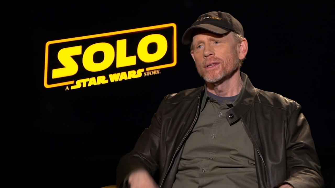 Ron Howard speaks about directing 'Solo: A Star Wars Story'