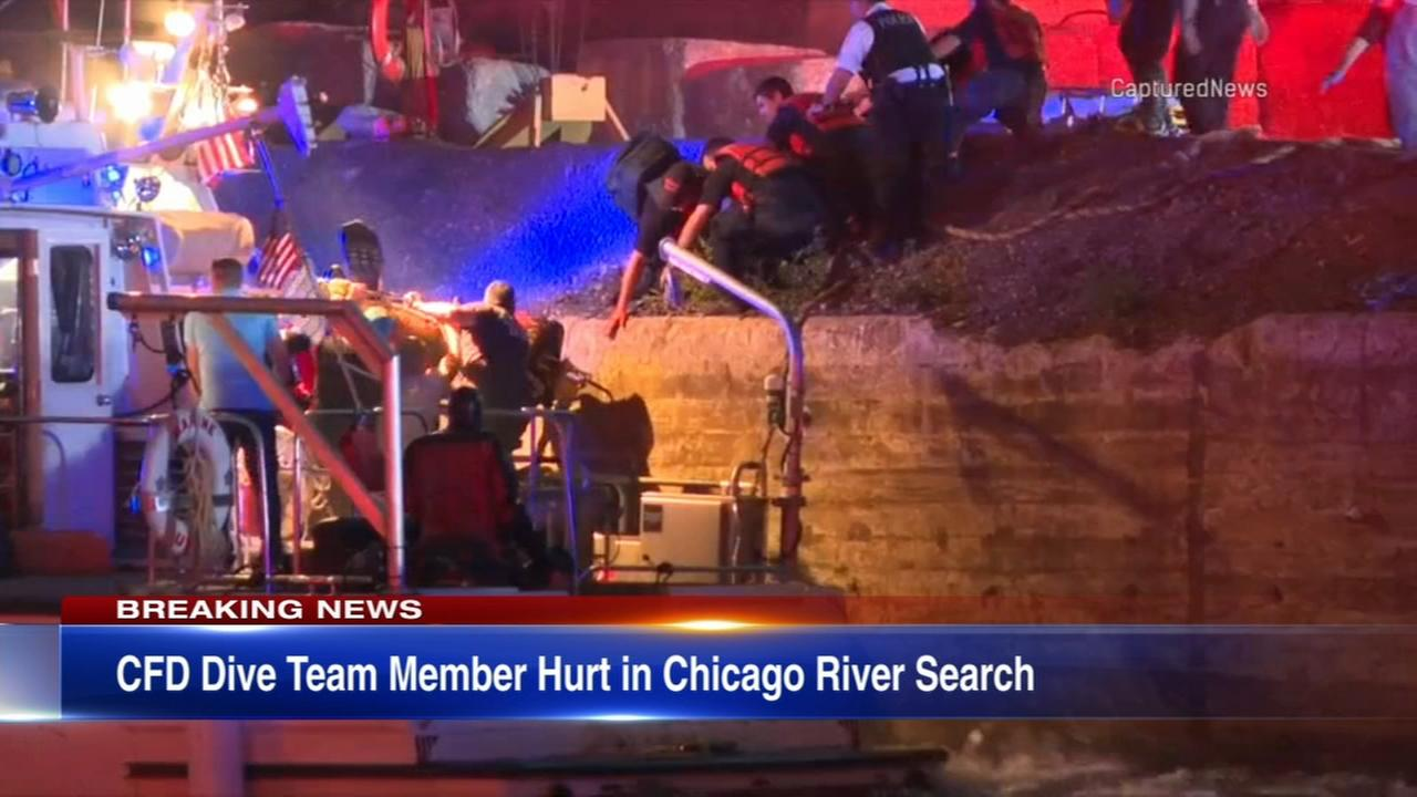 CFD diver dies while searching for boater in Chicago River