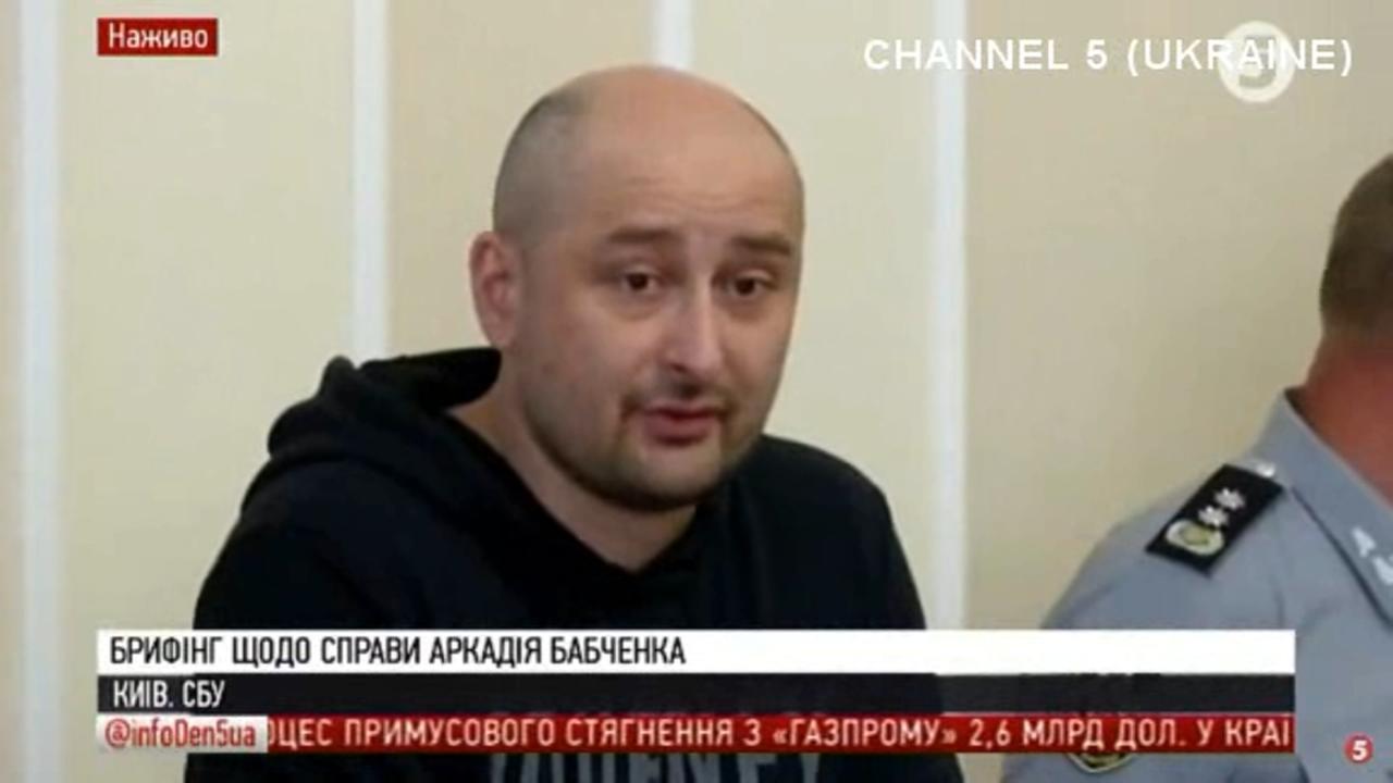 Murdered Russian journalist Arkady Babchenko turns up alive