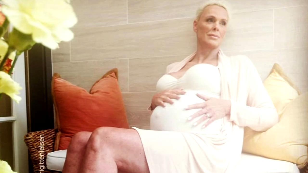 Brigitte Nielsen announces pregnancy at 54