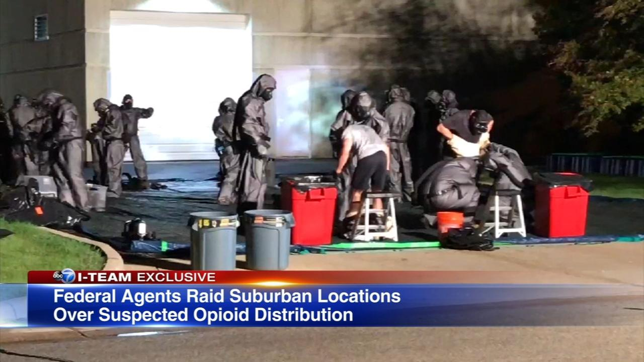 2 suburban facilities accused of selling illegal narcotics from China online