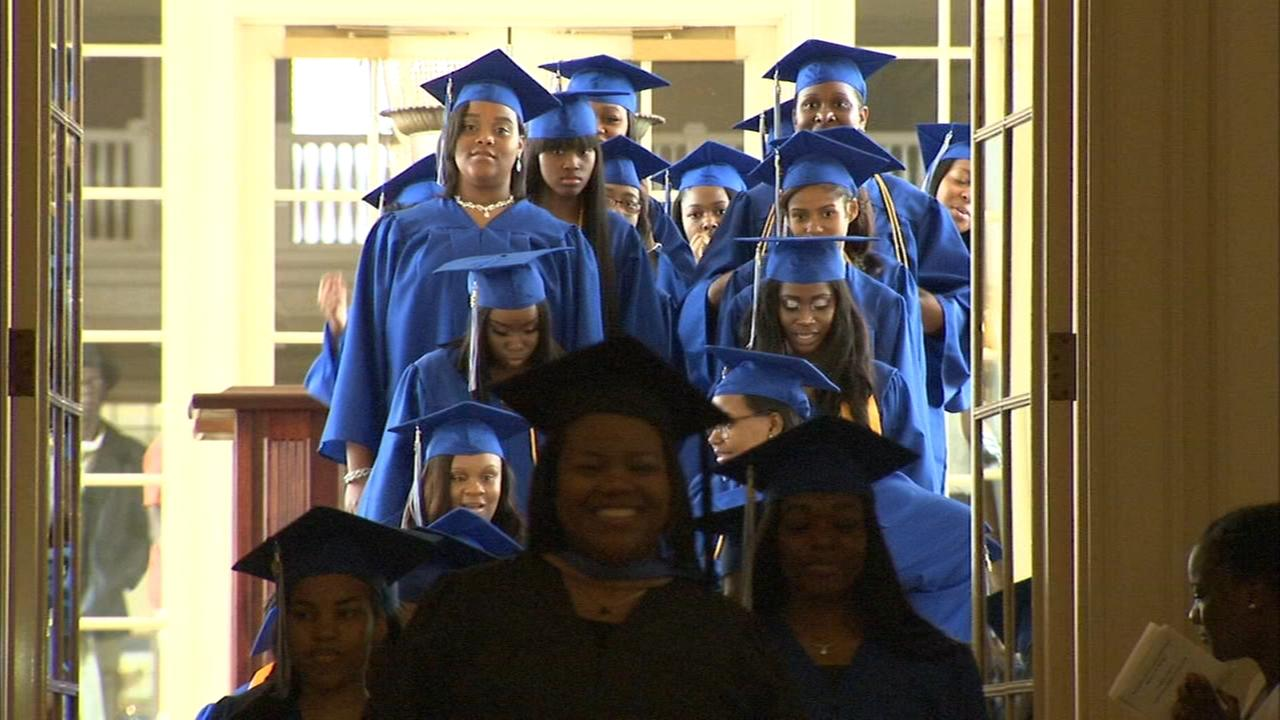 Young Womens Leadership Charter School celebrates 100% graduation, college acceptance