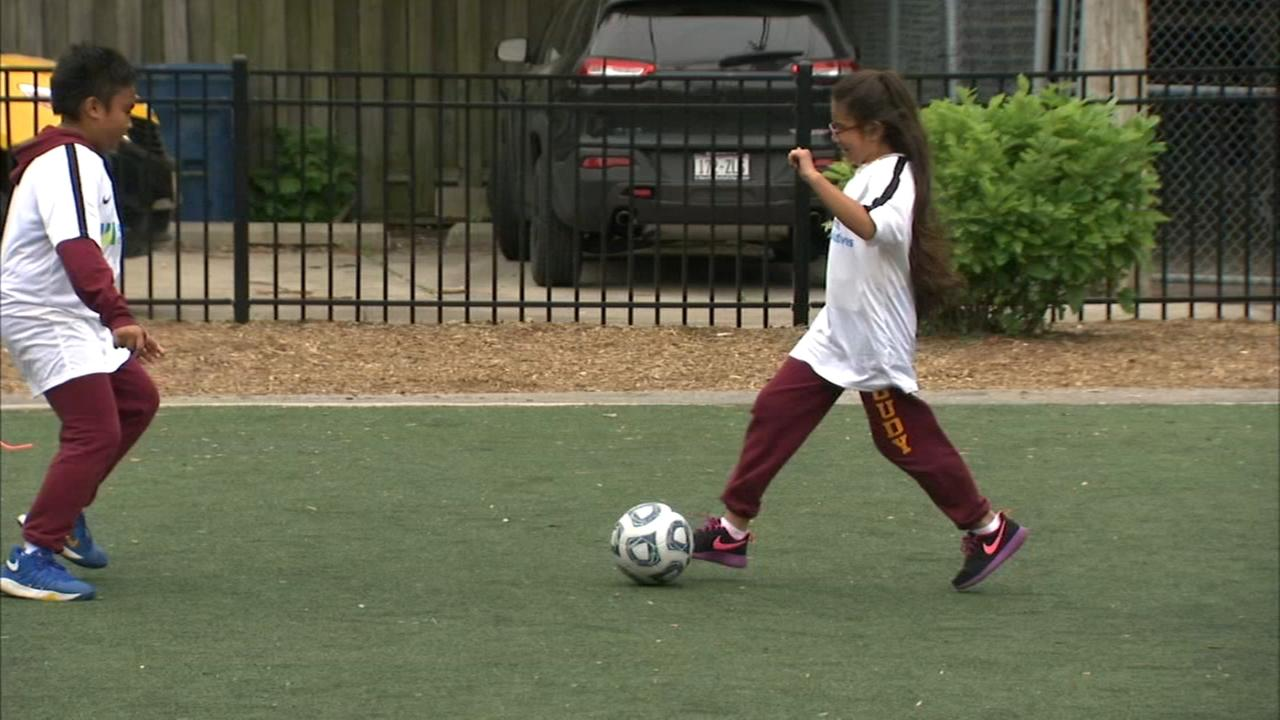 Chicago kids prepare for Work to Play Cup