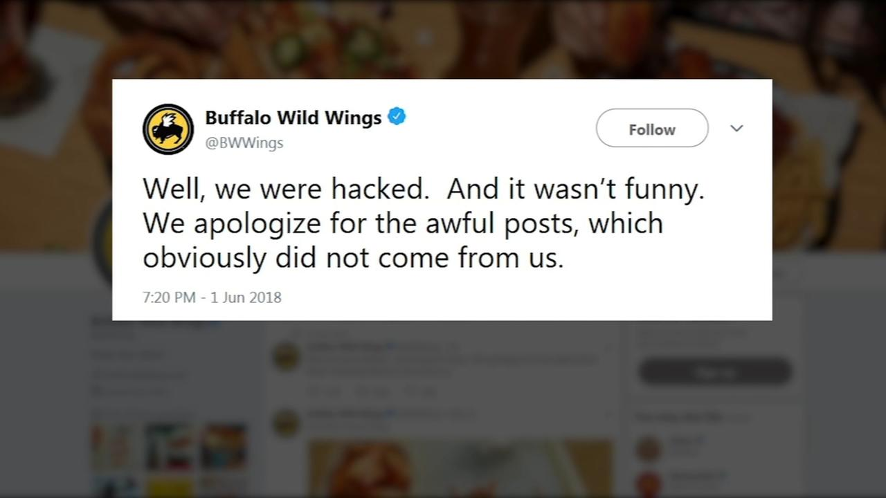 Buffalo Wild Wings Twitter account hacked | abc7chicago.com