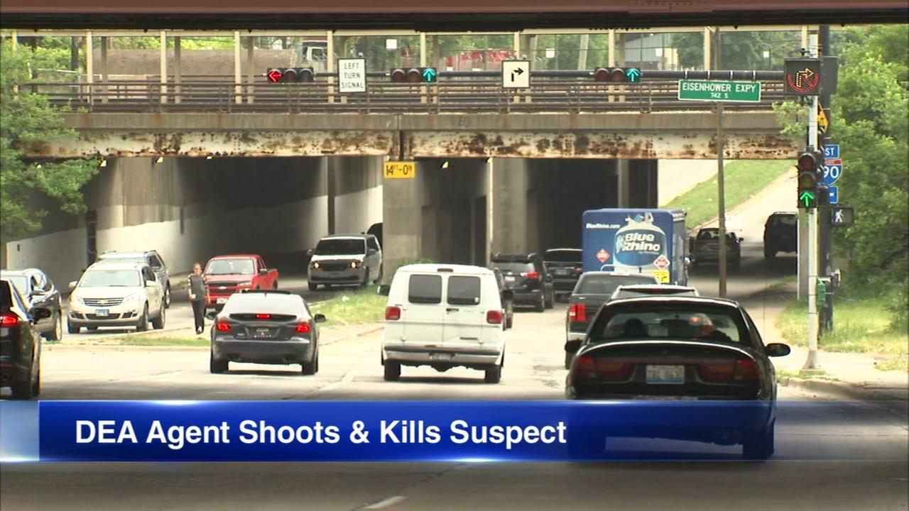DEA agent fatally shoots suspect in drug investigation on West Side