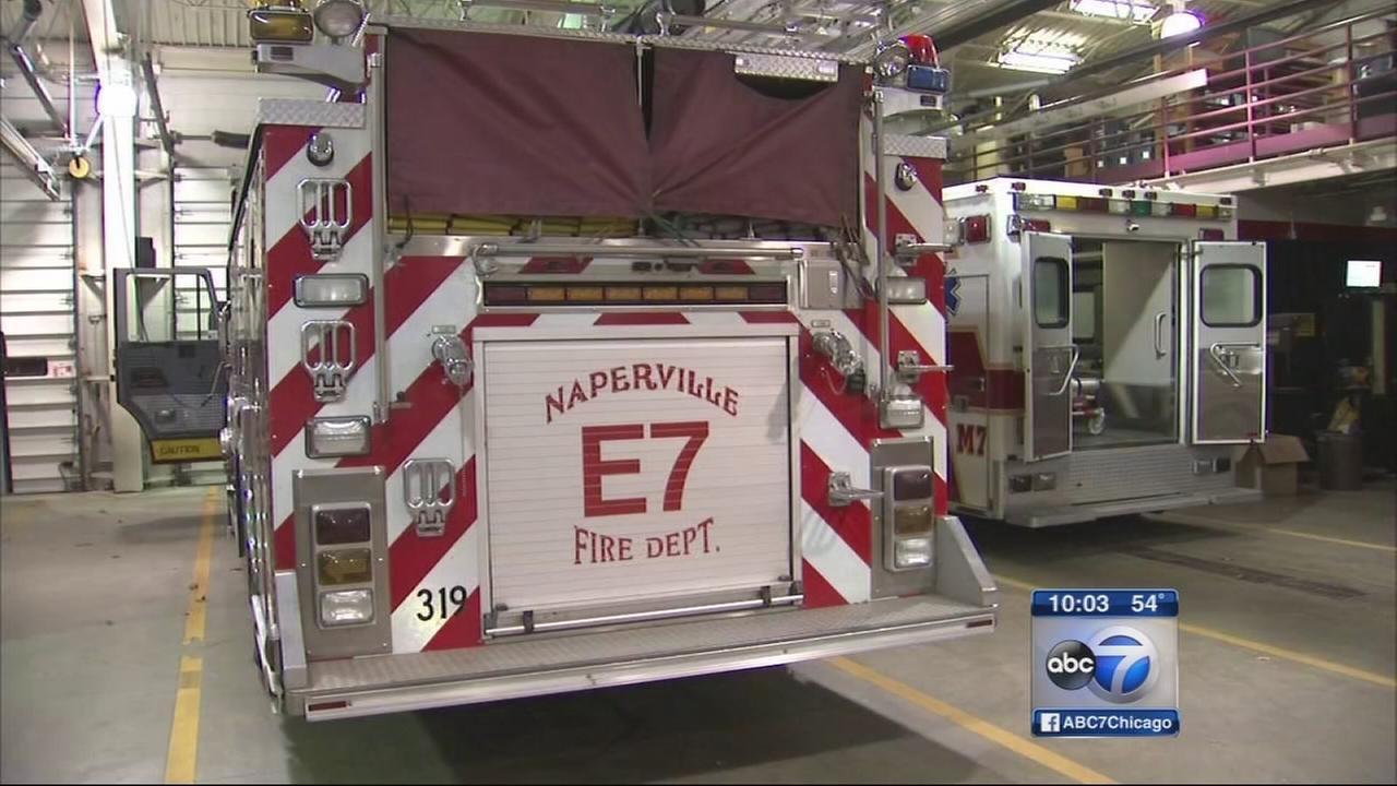 Naperville firefighters prepare for Ebola