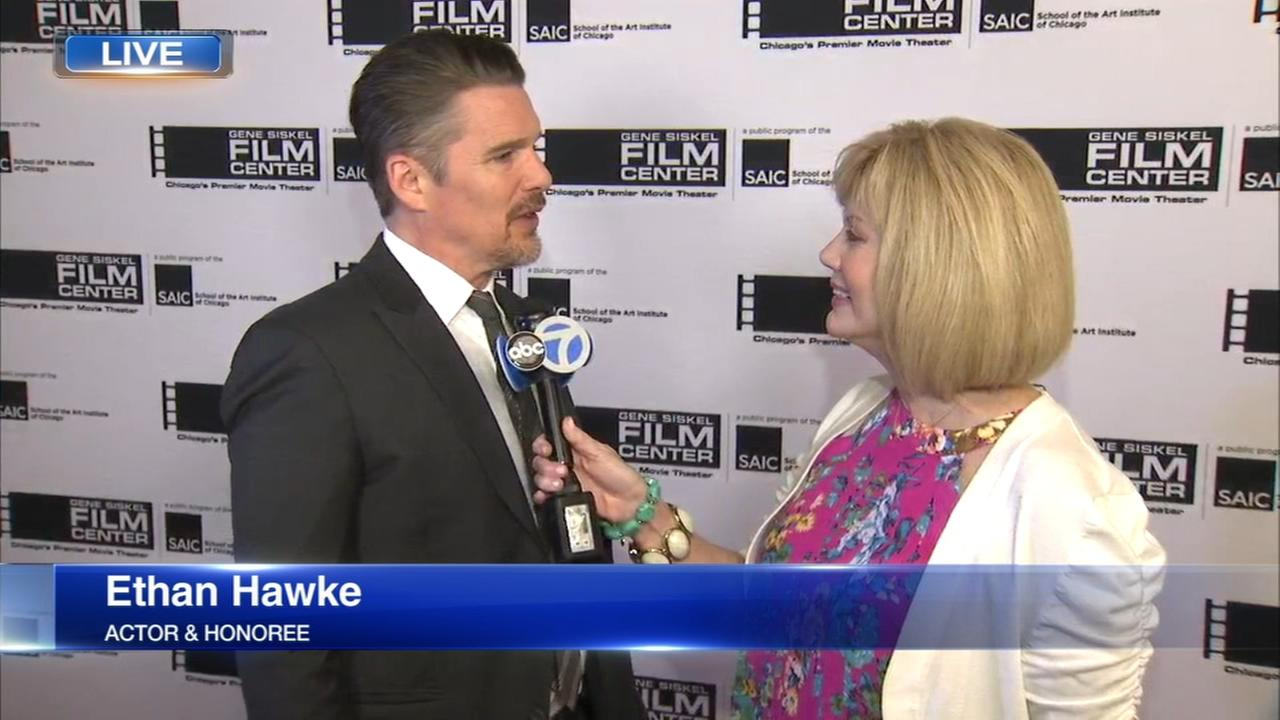 Ethan Hawke honored by Gene Siskel Film Center