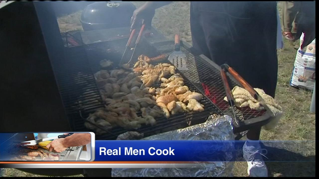 Real Men Cook Fathers Day celebration