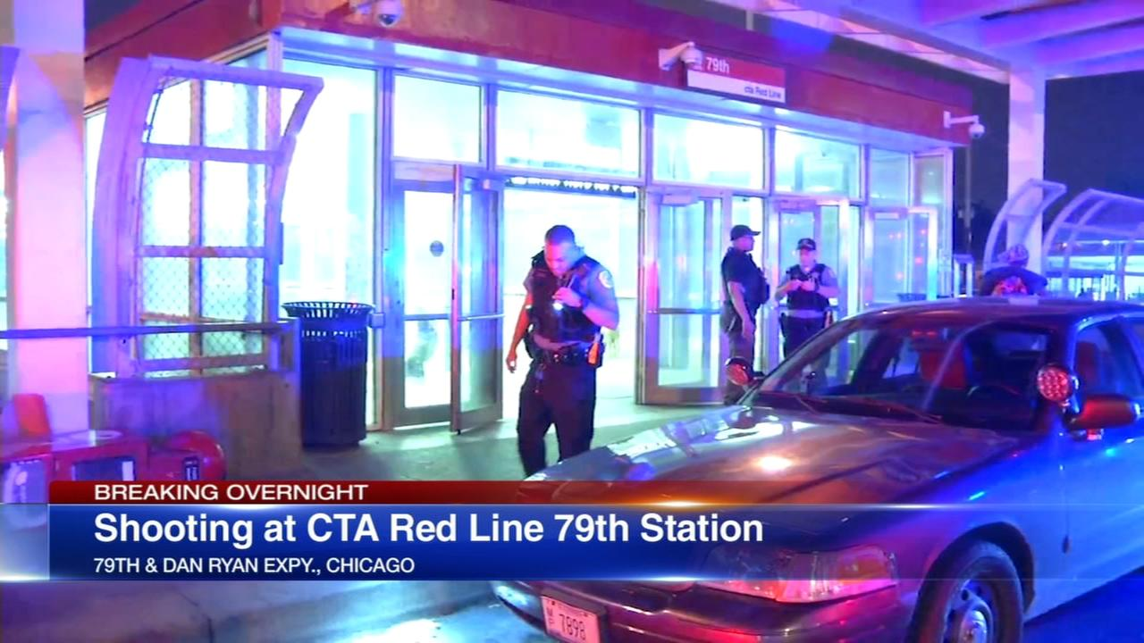 Shots fired at CTA Red Line 79th station