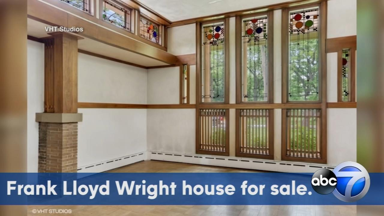 Frank Lloyd Wright home for sale in Riverside