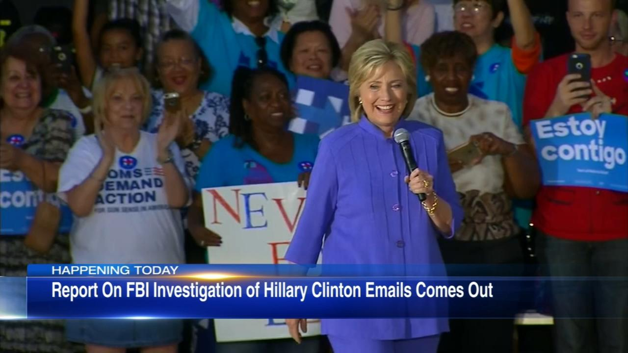 Watchdog sees errors, not bias, in Comeys Clinton probe