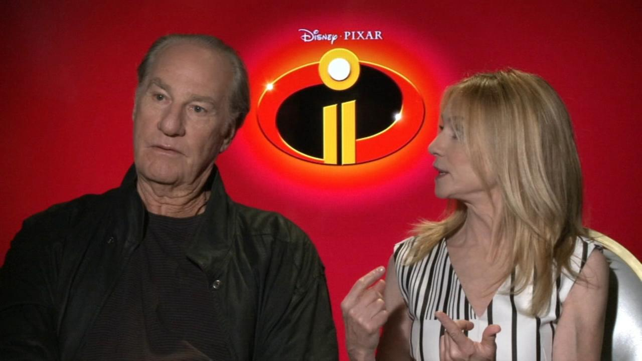 Craig T. Nelson and Holly Hunter talk Incredibles 2