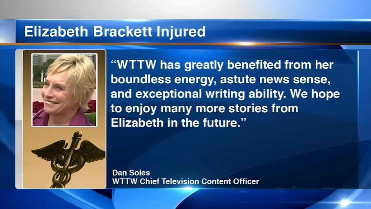 Chicago broadcaster Elizabeth Brackett in coma after accident