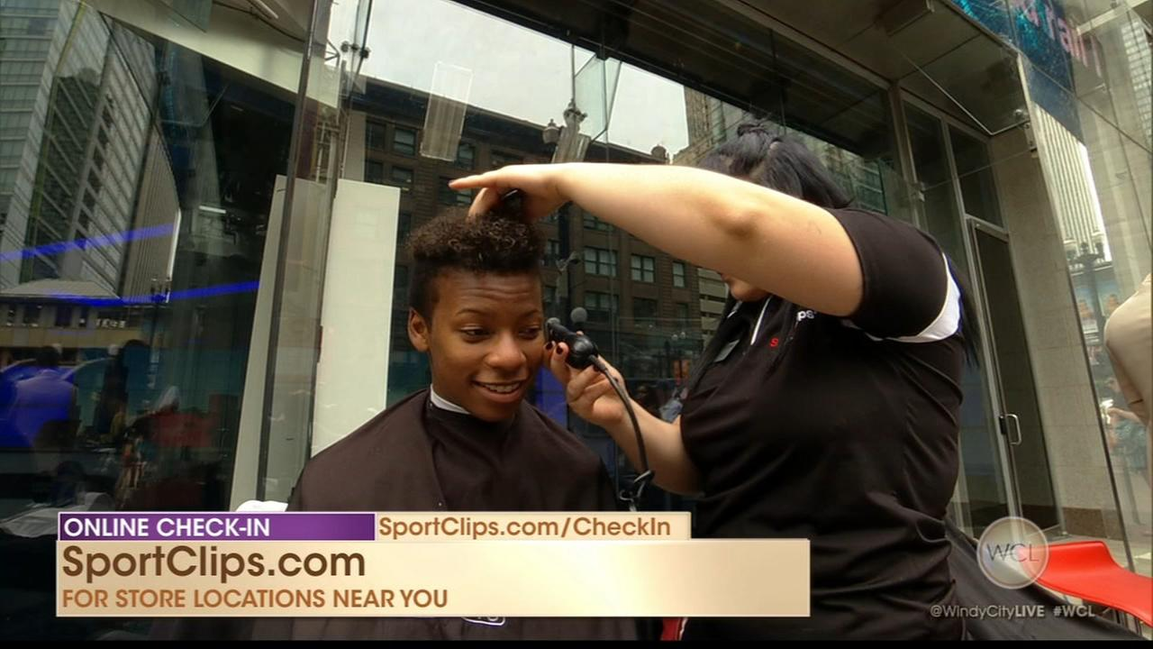 Sport Clips gives MVP experience with mens haircuts