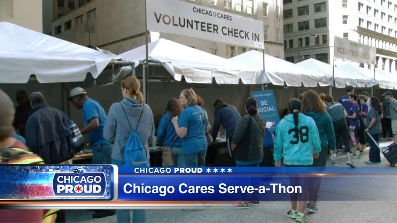 Chicago Cares to kick off 25th Annual Serve-a-thon