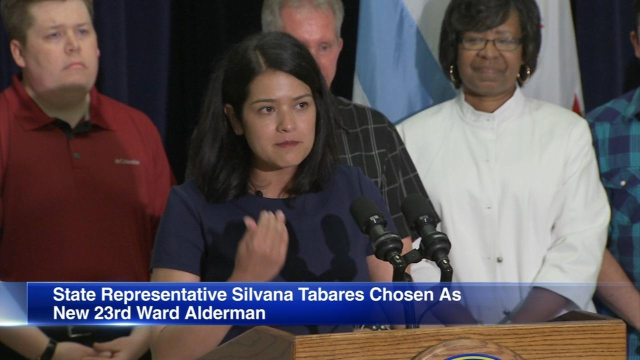 Silvana Tabares appointed alderman of 23rd Ward