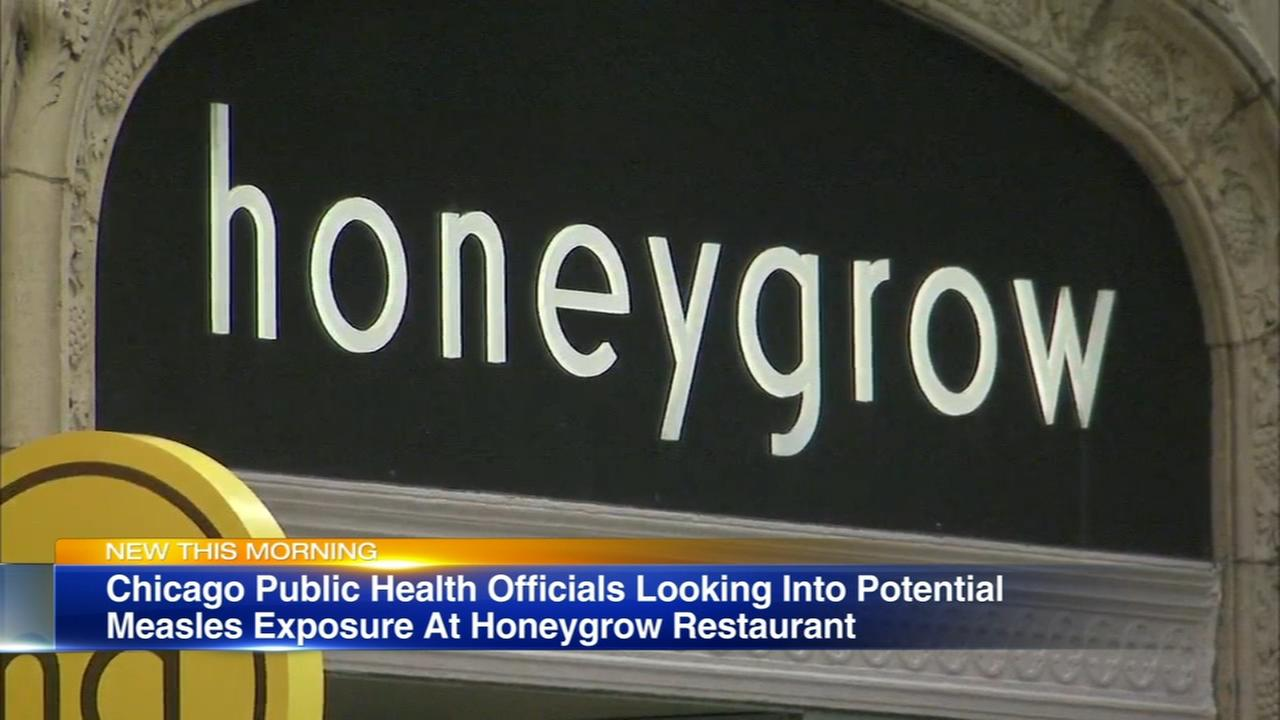 Health officials warn of potential measles exposure at Loop restaurant
