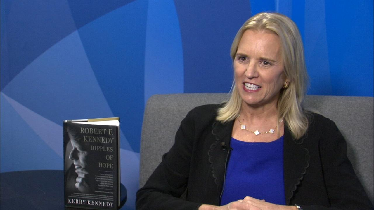 Kerry Kennedy remembers father Robert F. Kennedy in new book, Part 1