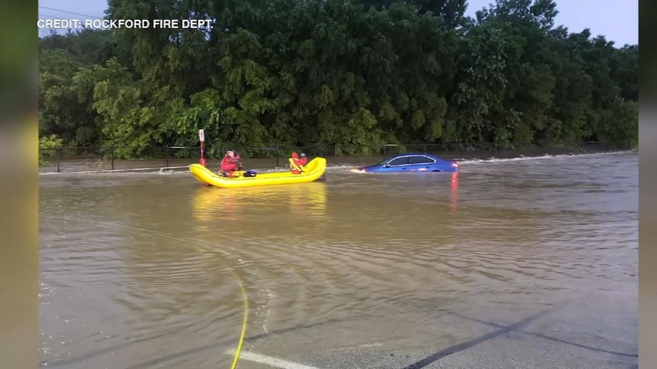 Chicago Weather: Heat breaks thanks to storms, but flooding reported in north suburbs