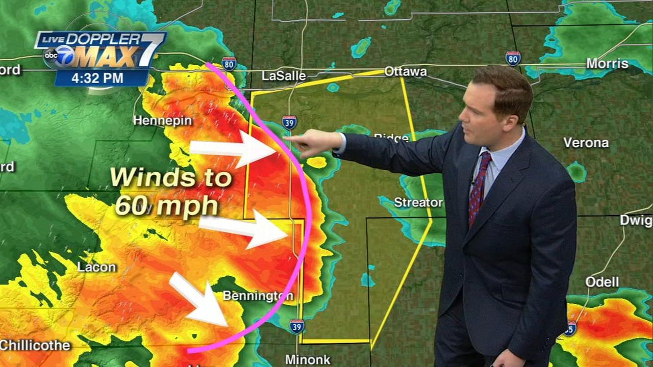Chicago Weather: Storms move through the Chicago area