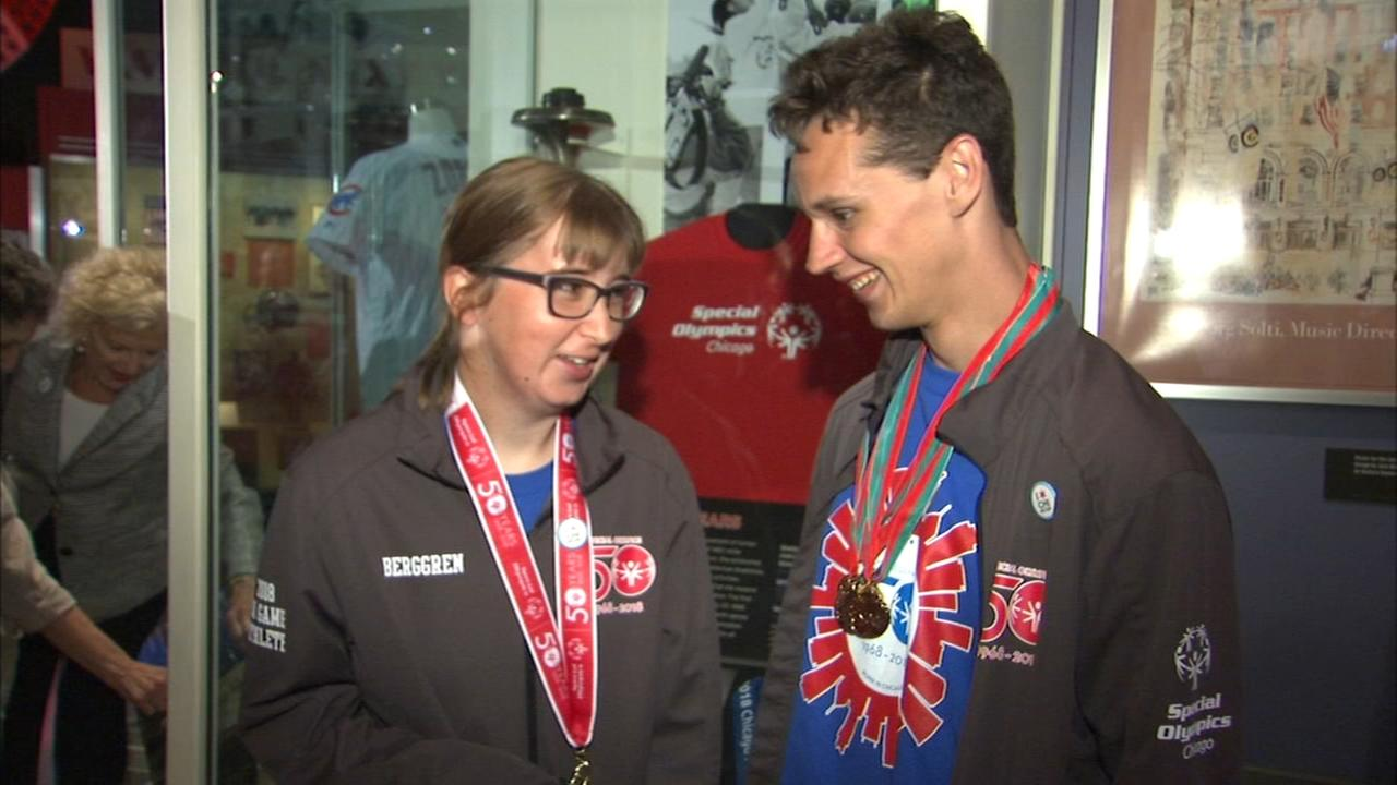 New exhibit celebrates 50th anniversary of Special Olympics