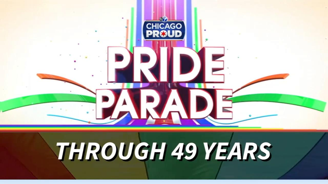 Chicagos Pride Parade through the years