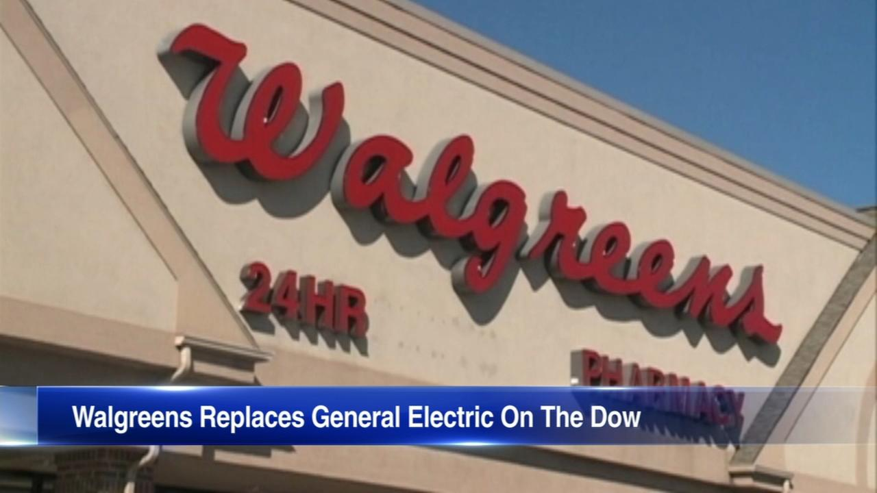 Walgreens to replace GE on the Dow