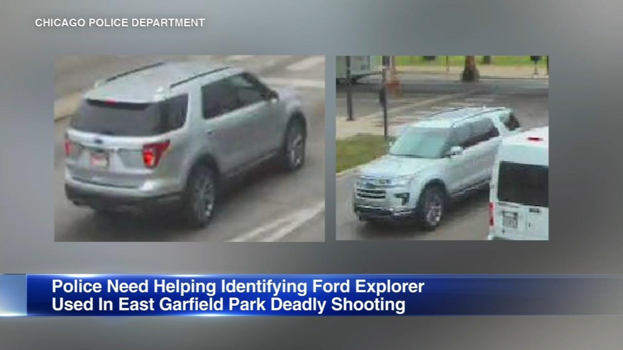 Police seek SUV in fatal East Garfield Park drive-by shooting
