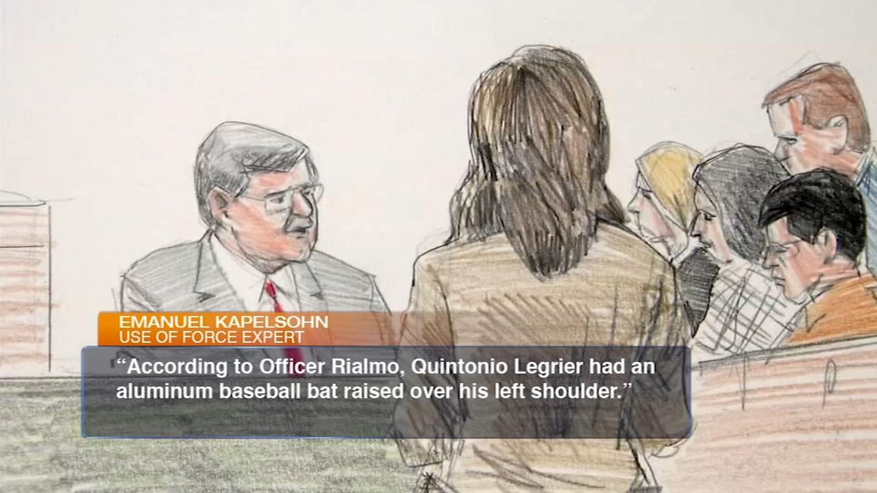 Police use of force expert testifies in Quintonio LeGrier wrongful death case