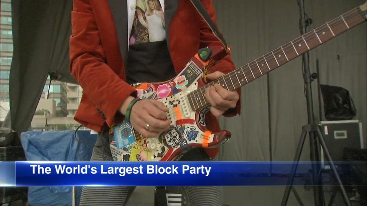 34th annual Old St. Pats Worlds Largest Block Party
